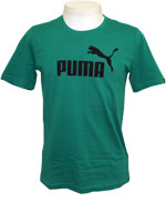 Camisa Puma Logo Tee Verde Escuro