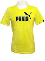 Camisa Puma Logo Tee Verde Lim�o