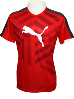 Camisa Puma Graphic Tee High Risk Vermelha