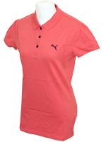 Camisa Polo Puma Ess Feminina Salm�o