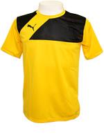 Camisa Puma Training Jersey Amarela/Preta