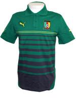 Camisa Polo Puma Seleção Camarões Verde
