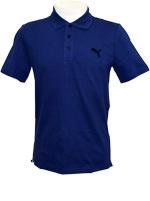 Camisa Polo Masculina Puma Ess Azul