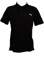 Camisa Polo Masculina Puma Ess Preta