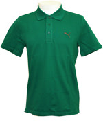 Camisa Polo Masculina Puma Ess Verde