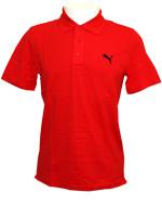 Camisa Polo Masculina Puma Ess Vermelha