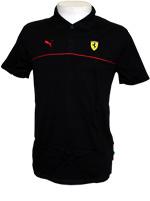 Camisa Puma Ferrari Polo Preta