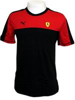 Camisa Puma Ferrari Tee Vermelha e Preta