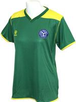 Camisa Baby Look Brasil Verde/Amarela 872486