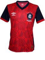 Camisa de Jogo 3 Remo 2015 Umbro Vermelha