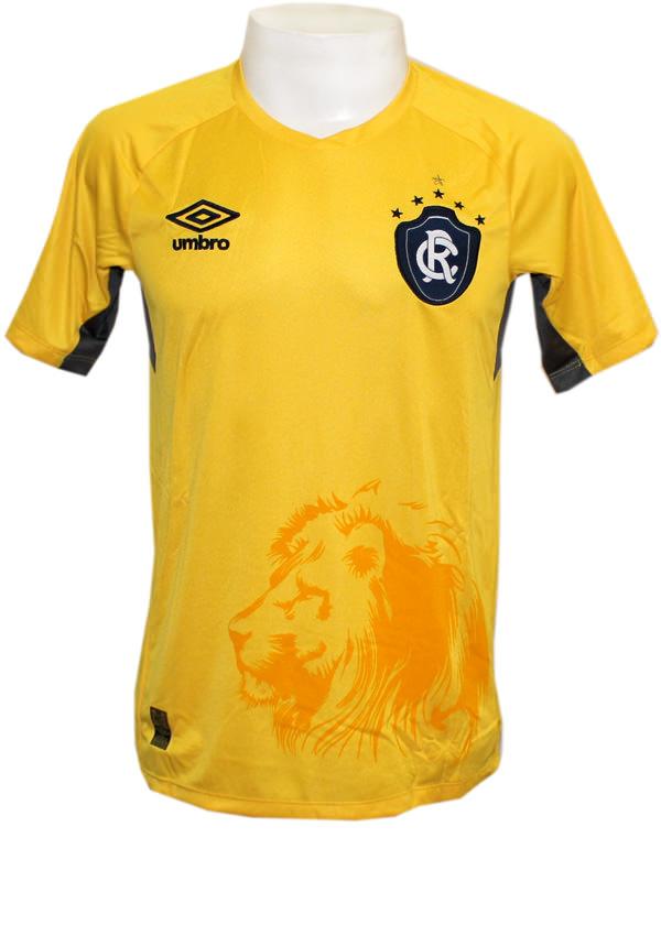 7aee3fc5481f3 Camisa de Goleiro Remo 2015 Umbro Amarela