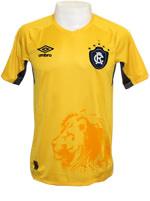 Camisa de Goleiro Remo 2015 Umbro Amarela