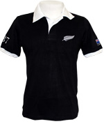 Camisa Retrô All Blacks 1987 Preta
