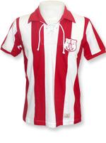 Camisa Retrô Náutico 1910 Vermelha e Branca