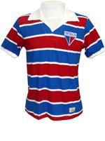 Camisa Retrô Fortaleza 1970 Tricolor