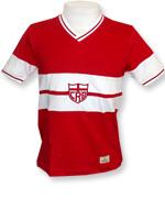 Camisa Retrô CRB 1975 Vermelha e Branca