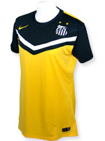 Camisa Feminina Santos Nike 2014 Amarela