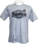 Camisa Santos Floc ADT - Cinza