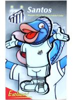 Imã Mascote Peixe Santos