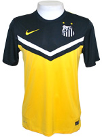 Camisa Juvenil Santos Nike 2014 Amarela