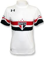 Camisa SPFC 2016 Oficial Under Armour Branca
