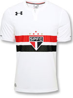 Camisa 1 SPFC 17/18 Oficial Under Armour Branca