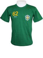 Camisa Stadio Brasil 1962 Verde