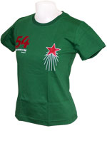 Camisa Stadio Hungria 54 Baby Look - Verde
