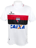Camisa 2 Atlético-GO 2013 Super Bolla Branca