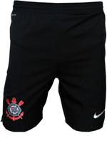 Calção de Jogo Juvenil Corinthians Nike Preto