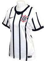 Camisa Feminina Corinthians Nike 14/15 Branca