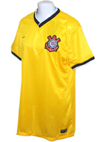 Camisa Feminina 3 Corinthians 2014 Nike Amarela