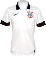 Camisa Juvenil Corinthians Nike 13/14 Branca