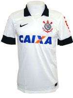 Camisa Jogo 1 Corinthians Nike 13/14 c/ Patroc�nio