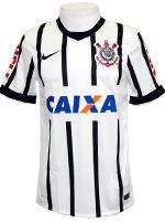 Camisa Jogo 1 Corinthians Nike 14/15 Branca