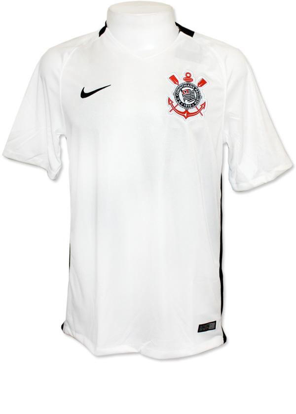 7df4a8c20a12f Camisa Jogo 1 Corinthians Nike 2016 Branca S N