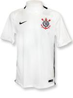 Camisa Jogo 1 Corinthians Nike 2016 Branca S/N