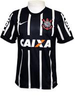 Camisa Jogo 2 Corinthians Nike 14/15 Preta