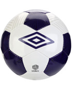 Bola de Futebol Umbro Neo Campo Branco/Roxo N 5