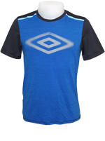 Camisa Umbro FS Projects Azul e Grafite