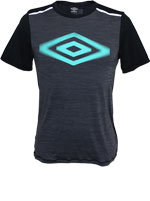 Camisa Umbro Projects Bicolor Preto e Grafite