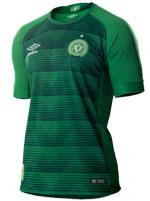Camisa Jogo 1 Chapecoense 17/18 Umbro Verde S/N