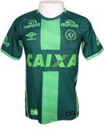 Camisa de Jogo 3 Chapecoense 2016 Umbro Verde
