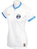 Camisa Feminina Grêmio 2015 Umbro Branca