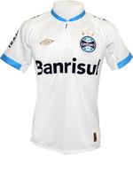 Camisa de Jogo Grêmio 2015 Umbro Branca (Game)
