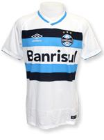 Camisa de Jogo 2 Grêmio 2016 Umbro Branca