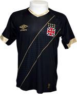 Camisa de Jogo 3 Vasco 2015 Umbro Preta