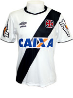 Camisa de Jogo Vasco 2015 Umbro Branca