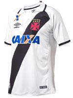 Camisa de Jogo 2 Juvenil Vasco 2017 Umbro Branca