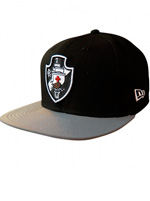 Boné New Era 950 Vasco Preto e Cinza